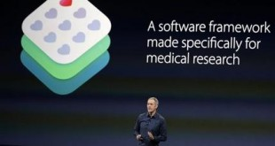 FILE - In this March 9, 2015 file photo, Apple Vice President of Operations, Jeff Williams, discusses ResearchKit during an Apple event in San Francisco. Apple named Williams as its new chief operating officer Thursday, Dec. 17, 2015, a job that hasn't been filled since Tim Cook left the position more than four years ago to become CEO. Williams has worked at Apple for about 17 years and supervised the launch of the Apple Watch, which went on sale earlier this year. (AP Photo/Eric Risberg)