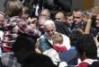 APTOPIX Greece Pope Migrants