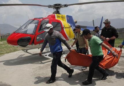 Nepal Everest The Bodies