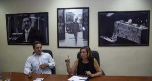 Josefina Vidal, Gustavo Machin