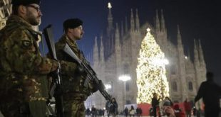 Italy Christmas Security