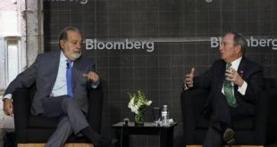 Carlos Slim, Michael Bloomberg