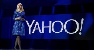 FILE - In this Jan. 7, 2014, file photo, Yahoo President and CEO Marissa Mayer speaks during the International Consumer Electronics Show in Las Vegas. Mayer's nearly four-year attempt to turn around Yahoo needs a turnaround itself, repeating a pattern of futility that has hobbled one of the Internet's best-known companies for the past decade. (AP Photo/Julie Jacobson, File)