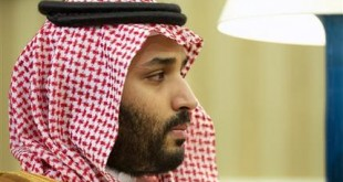 """FILE- In this May 13, 2015, file photo, Saudi Arabian Deputy Crown Prince Mohammed bin Salman listens in the Oval Office of the White House in Washington, during a meeting between Saudi Arabian Crown Prince Mohammed bin Nayef and President Barack Obama. Saudi Arabia said Tuesday, Dec. 15, that 34 nations have agreed to form a new """"Islamic military alliance"""" to fight terrorism with a joint operations center based in the kingdom's capital, Riyadh. Mohammed bin Salman said the new Islamic military coalition will develop mechanisms for working with other countries and international bodies to support counterterrorism efforts. (AP Photo/Jacquelyn Martin, File)"""