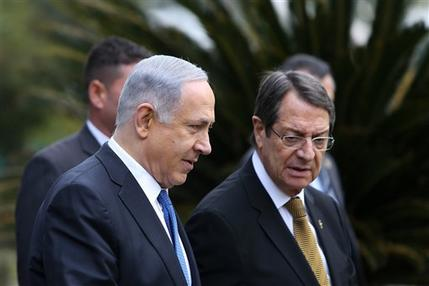 Leaders of Cyprus, Greece, Israel meet to boost cooperation