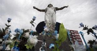 Uruguay Virgin Mary Statue