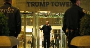 APTOPIX Trump Tower Suspicious Powder