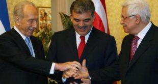 Shimon Peres, Abdullah Gul, Mahmoud Abbas