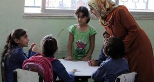 Mideast Syrian Refugees Back To School