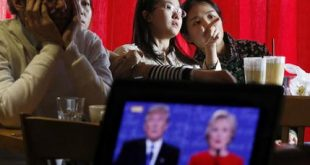 China US Campaign 2016 Debate World Reactions
