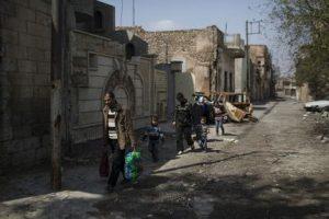 Iraq Mosul Door To Door