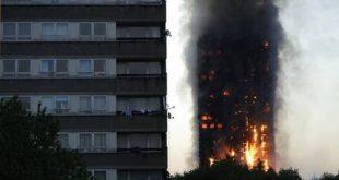 APTOPIX Britain London Fire