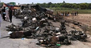 Pakistan Deadly Fire
