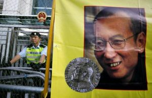 Hong Kong Jailed Nobel Laureate