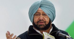 Amarinder Singh addresses media