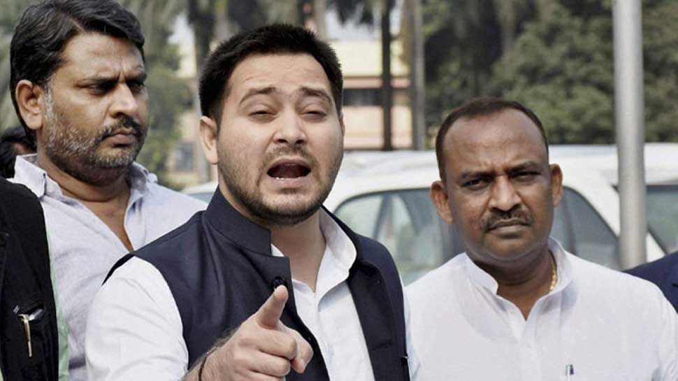 Tejashwi Yadav dares BJP to chargesheet him, says CBI can't be used to intimidate him