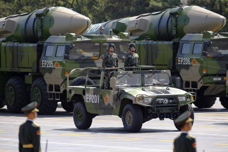 Beijing mobilises 'ship-killer' N-capable DF-26 missiles after US warship spotted in South China Sea