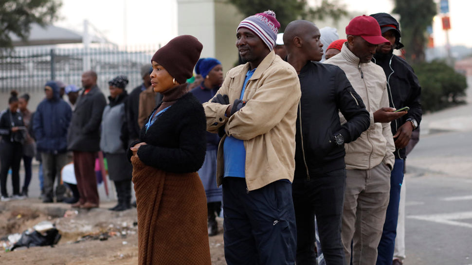 South Africa counts votes as Ramaphosa's ANC looks to retain power