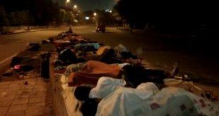 कोरोना वायरस: बेघरों को 'वाहे गुरु जी की रोटियों' का सहारा