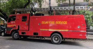 FIRE AT DELHI'S DARYAGANJ AREA, ONE PERSON KILLED