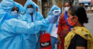 INDIA'S COVID-19 CASELOAD CLIMBS TO 80,88,851; DEATHS TOLL REACHES 1.2 LAKH