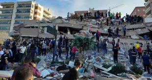 EARTHQUAKE OF MAGNITUDE 7.0 STRIKES AEGEAN SEA, KILLS 14, INJURES OVER 100 IN TURKEY AND GREEK ISLANDS