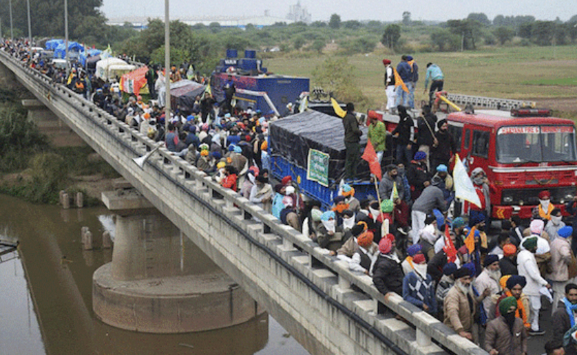 Farmers Marching To Delhi Enter Haryana, Get Past Tear Gas, Water Cannons