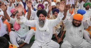 'DELHI CHALO' PROTEST: HUNDREDS OF FARMERS GATHER ALONG PUNJAB-HARYANA BORDER, SECURITY DEPLOYED