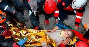UNBELIEVABLE! 3-YEAR-OLD SURVIVES TURKEY EARTHQUAKE, PULLED OUT ALIVE FROM UNDER DEBRIS AFTER 91 HOURS