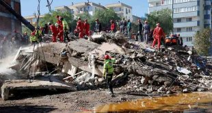 3-YEAR-OLD RESCUED FROM RUBBLE IN TURKEY, EARTHQUAKE DEATH TOLL HITS 94